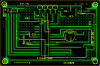 Digital Compass PCB layout and componant overlay