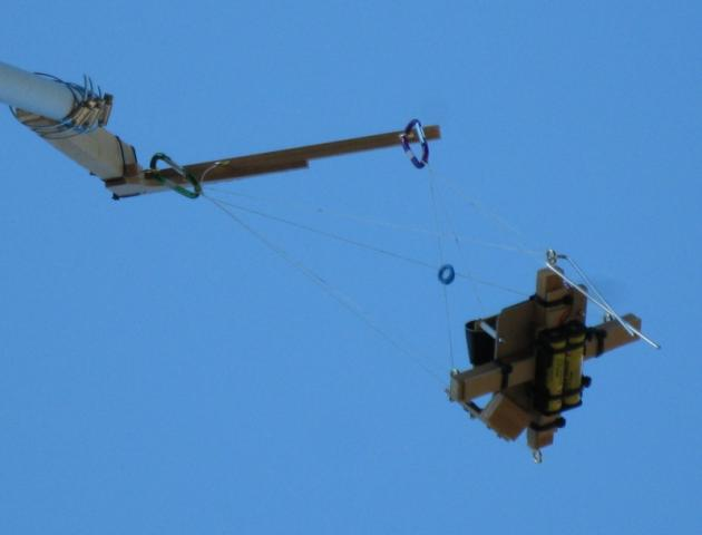 Suspended PiPole-Cam